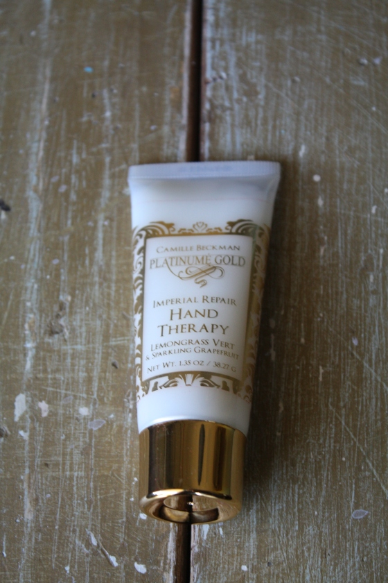 Camille Beckman Gold Imperial Repair Hand Theraphy