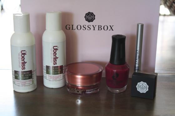 GlossyBox August 2014 Box