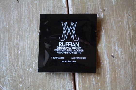 Ruffian Dressing Room Nail Lacquer Remover Towelettes