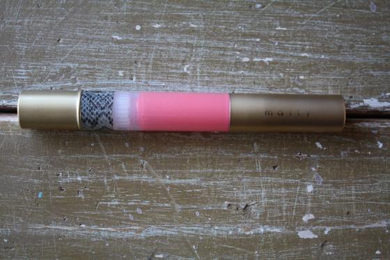 Mally High Shine Liquid Lipstick in the color Mally   Melon