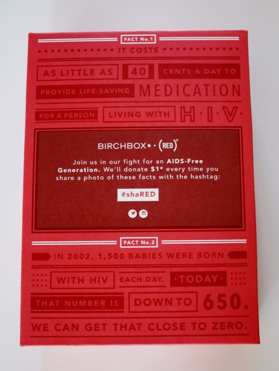 BirchBox November 2014 Box