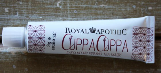 BirchBox Sample Choice Royal Apothic Cuppa Cuppa Firming   Tea Treatment Facial Mask