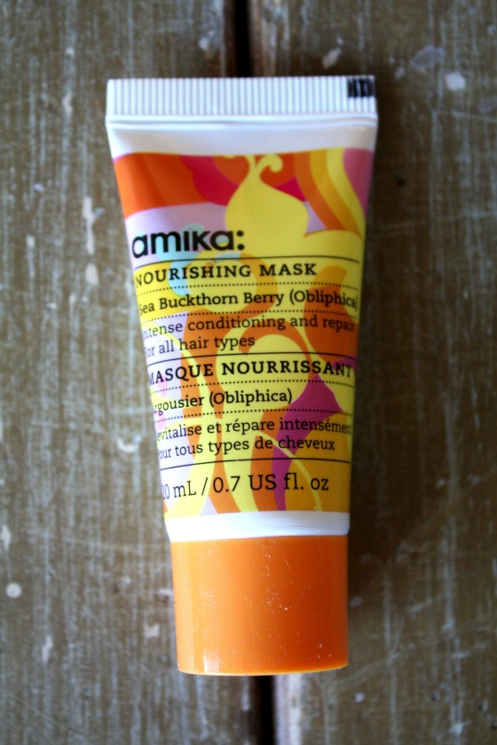 BirchBox Sample Subscription Amika Nourishing Hair   Mask
