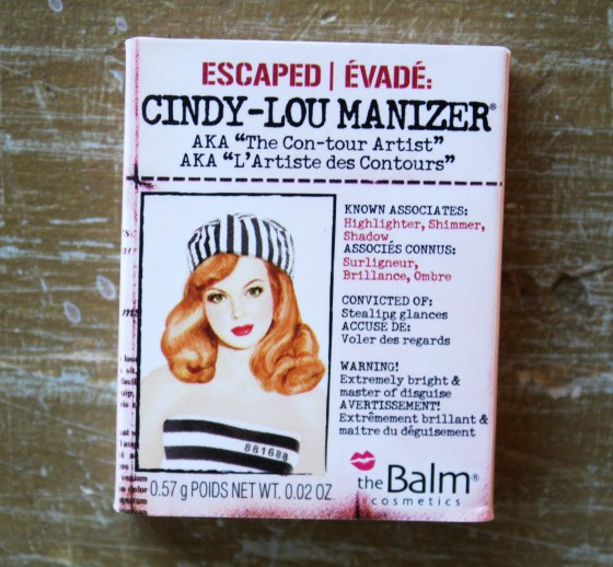 BirchBox Sample Subscription Cindy- Lou Manizer by The    Balm Cosmetics