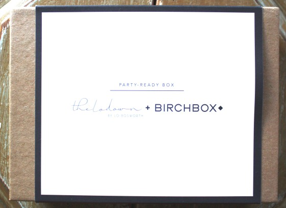 Beauty Sample Subscription Service Company BirchBox   December 2014 Box