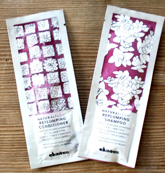 BirchBox Davines Replumping Hair Filler Superactive   Shampoo and Conditioner