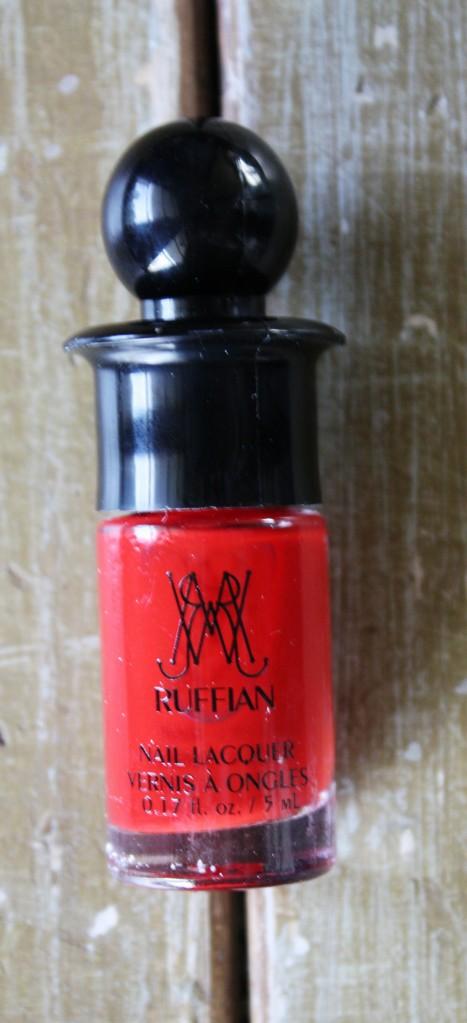 BirchBox Ruffian Red  Nail Lacquer