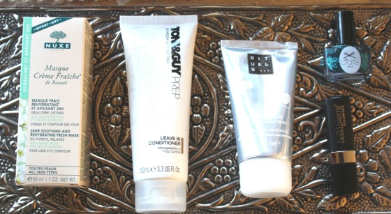 GlossyBox December 2014 Products