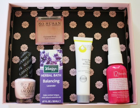 Glossybox November 2014 Beauty Box