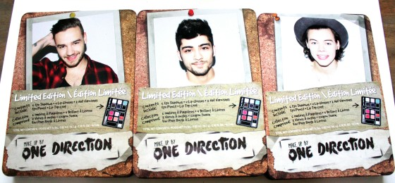 Limited Editions Makeup Kits By One Direction New Pic