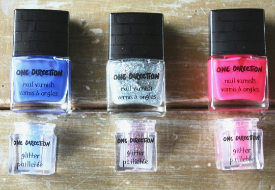 New One Direction  Limited Edition Rock Me Nail Varnish    Collectors set