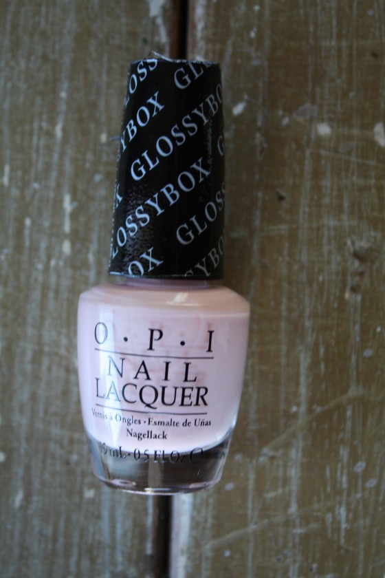 OPI Nail Lacquer in Pink Outside The GlossyBox
