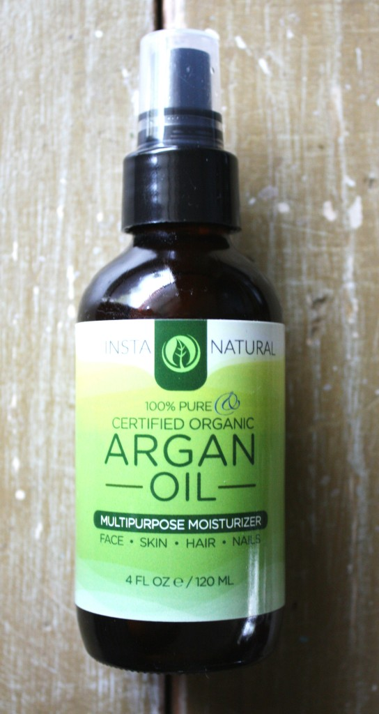 InstaNatural 100% Pure Certified Organic Argan Oil