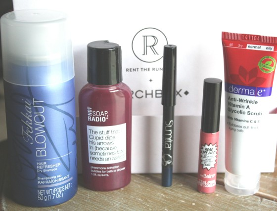 Rent The Runway February 2015  BirchBox