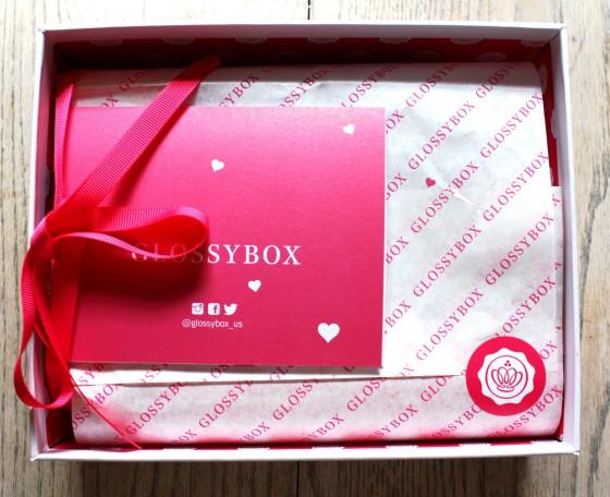 GlossyBox February 2015 Box Reveal