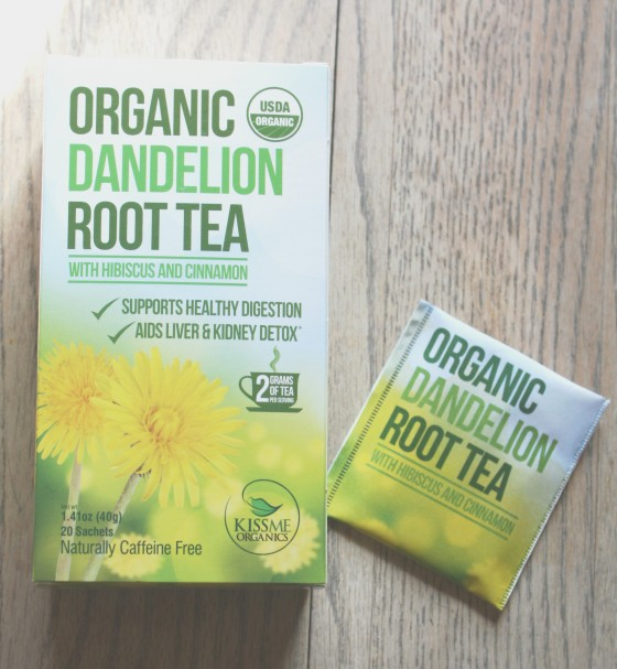 Kiss Me Organics USDA Organic Dandelion Root Tea