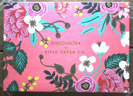 Birchbox  April 2015 Sample Subscription Box