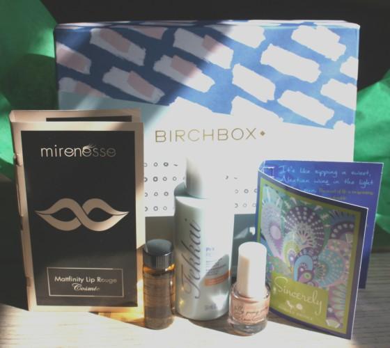 BirchBox March 2015 Box