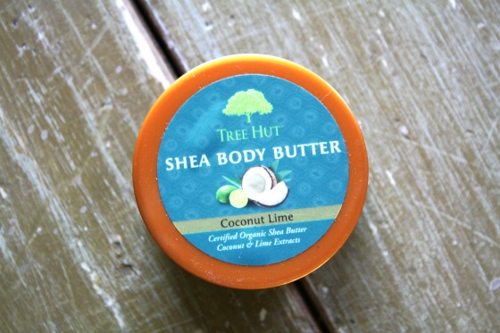 GlossyBox March 2015 Box Tree Hut Shea Body Butter In   Coconut Lime
