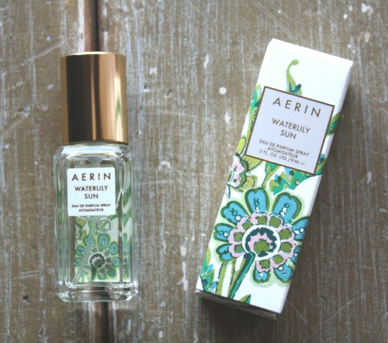 Glossybox April 2015 Box AERIN Waterlily Sun