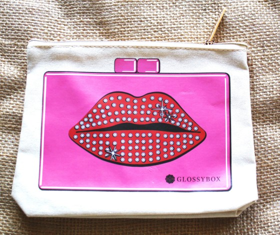 Glossybox April 2015 Box Makeup Bag