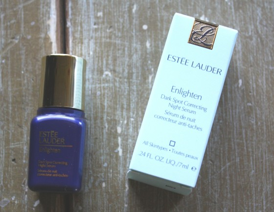 Glossybox April 2015 Estee Lauder Enlighten Dark Spot   Correcting Night Serum