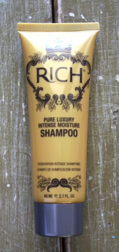 Glossybox June 2015 Rich Hair Care Pure Luxury Intense   Moisture Shampoo