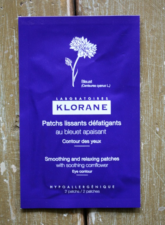 Ipsy May 2015 Bag  Klorane Soothing and Relaxing   Patches