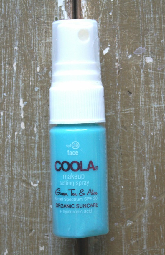 Birchbox July 2015 Box Reveal Coola SPF 30 Organic Makeup Setting Spray