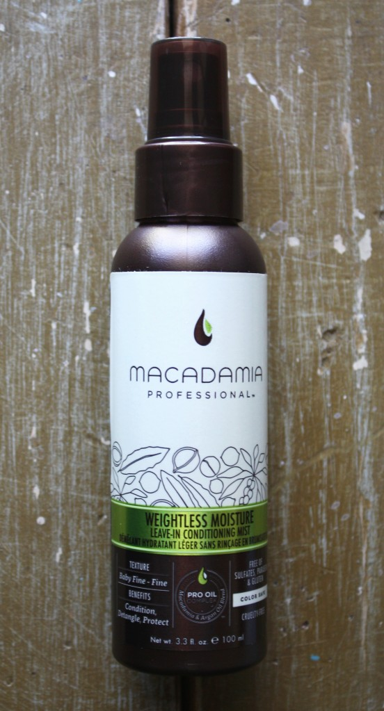 Birchbox July 2015 Box Reveal Macadamia Professional Weightless Moisture Leave-in Conditioning Mist
