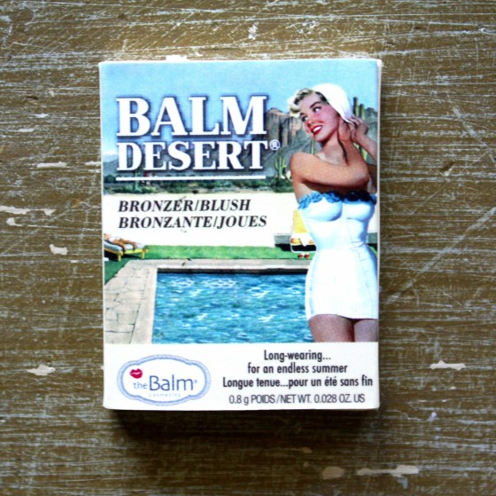Birchbox July 2015 Box Reveal The Balm Cosmetics Balm Desert
