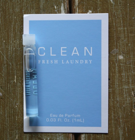 Birchbox June 2015 Box Clean Fresh Laundry Perfume