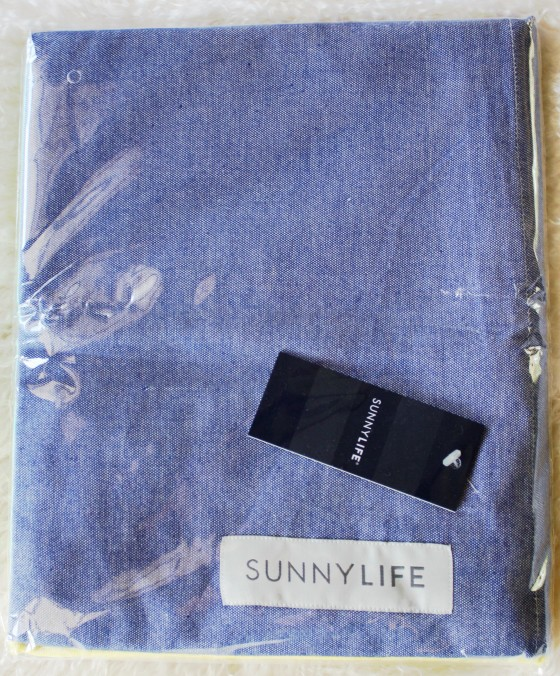Birchbox Plus July 2015 Sunnylife Fouta Towel in Sorrento