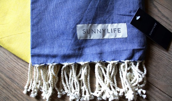 Birchbox Plus July 2015 Sunnylife Fouta Towel