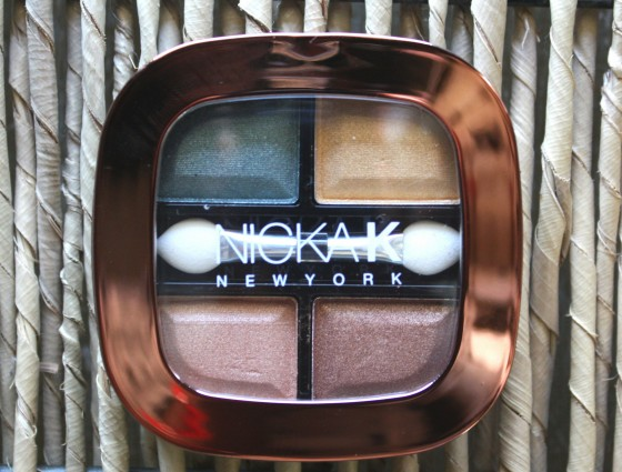 Ipsy July 2015 Bag Reveal Nicka k  New York Eye Shadow Quad