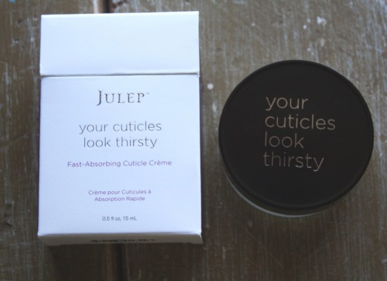 Julep Maven July 2015 Modern Beauty Box Reveal  Your Cuticles Look Thirsty Fast -Absorbing Cuticle Creme