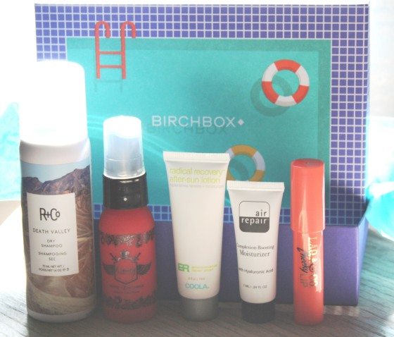 Birchbox August 2015 Box Reveal Featured Items
