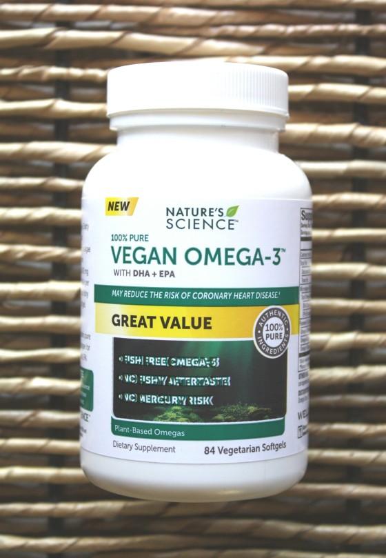 Nature's Science 100 % Pure Vegan Omega -3
