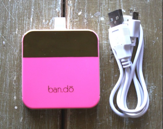 BirchBox Plus September 2015 Ban.do Mobile Charger
