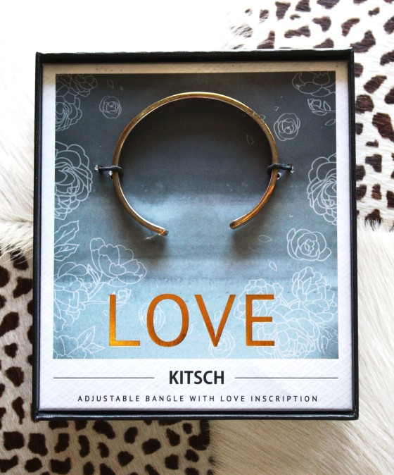BirchBox Plus September 2015 Kitsch Love Cuff