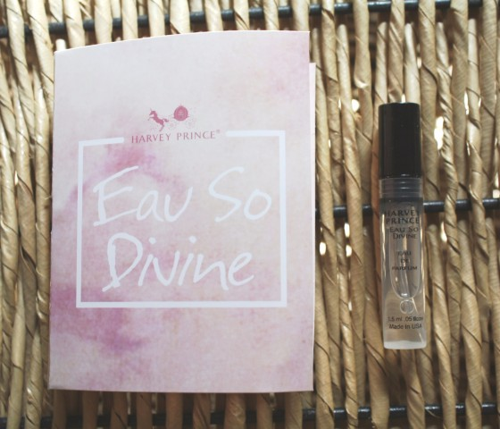 Birchbox September 2015 Box Reveal Harvey Prince Eau So Divine Perfume