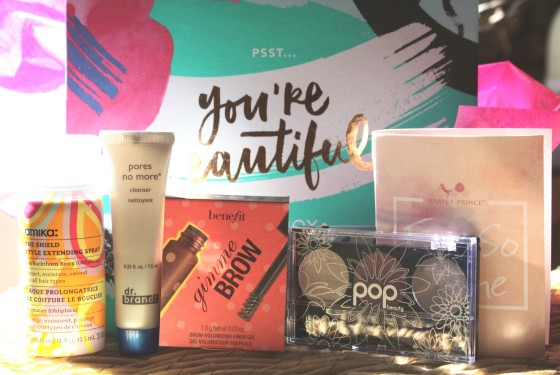 Birchbox september 2015 Box Reveal of Featured Products