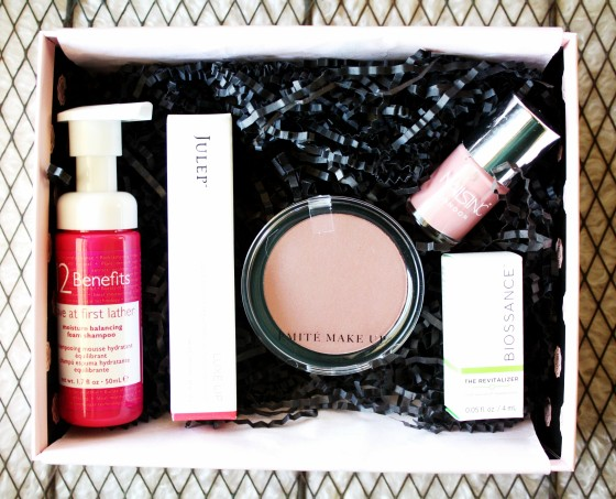 GlossyBox September 2015 Box Review Products Featured