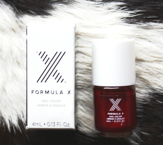 Ipsy September 2015 Formula X Nail Color in Ignite