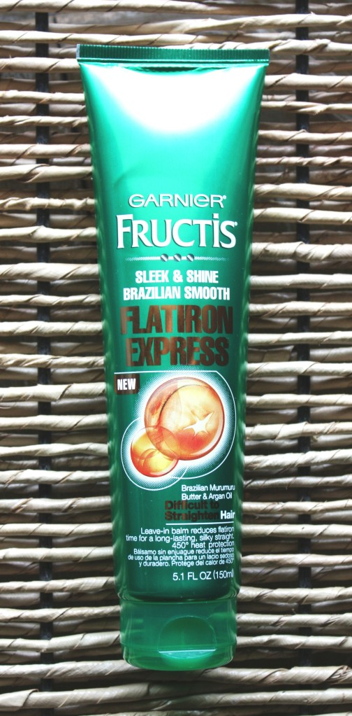 Ipsy September 2015 Garnier Fructis Sleek & Shine Brazilian Smooth Flat Iron Express Leave-in-balm