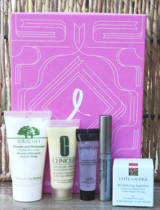 Birchbox October 2015 Box Reveal Products