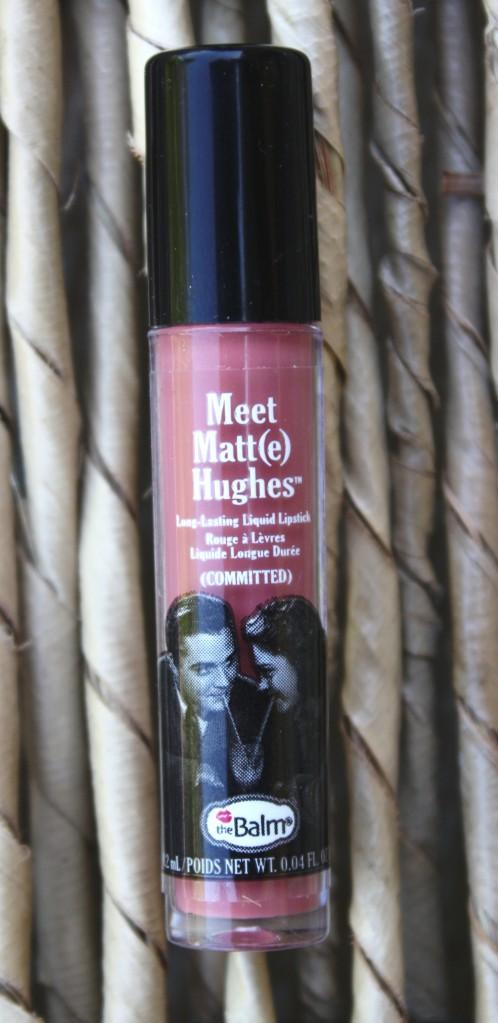 Ipsy October 2015 Bag Reveal Meet Matt(e) Hughes Liquid Lipstick in Committed