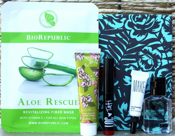 Birchbox November 2015 Box Reveal Featured Products