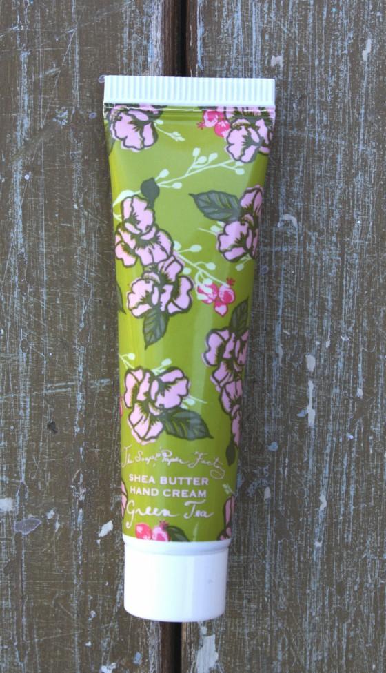 Birchbox November 2015 Box Reveal Soap & Paper Factory Shea Butter Hand Cream -Green Tea
