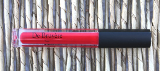 Glossybox October 2015 Box De Bruyere Paris Red Lipgloss
